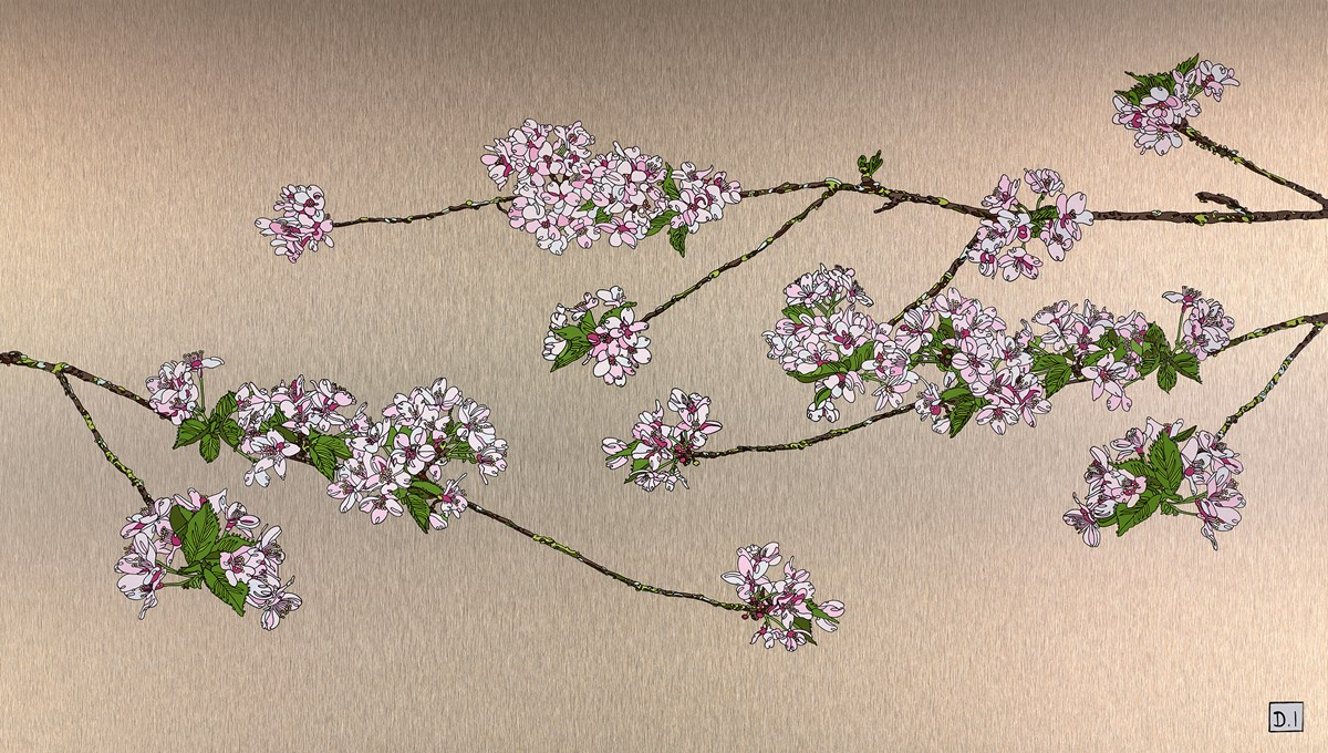 Blossom by dylan izaak -  sized 42x24 inches. Available from Whitewall Galleries